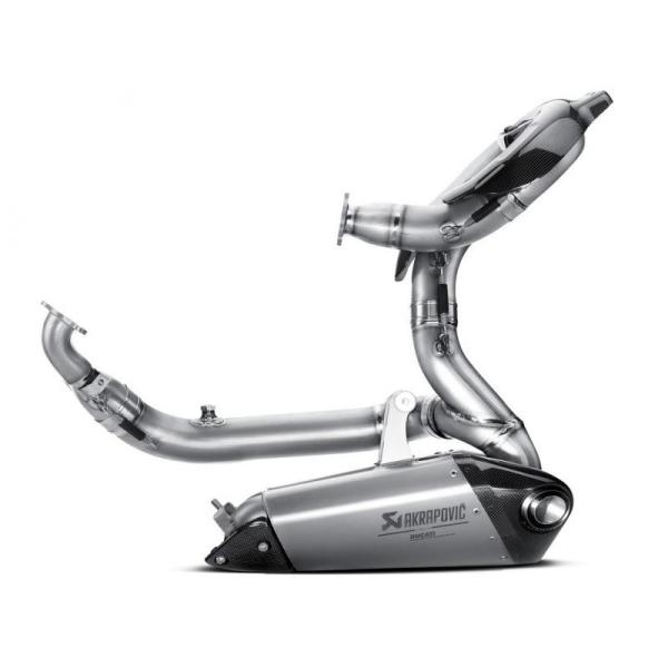 DUCATI Performance AKRAPOVIC 1299 Panigale/S用 2017-2018 Evolution コンプリートエキゾースト (Titanium) フルエキゾースト 96480761B ducatism 06