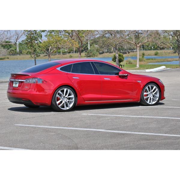 テスラ モデルS  純正 21インチ アラクニッド ホイール 4本set Arachnid Wheel 8.5Jx21/9Jx21 1台分set Tesla ModelS 鍛造|ducatism|06