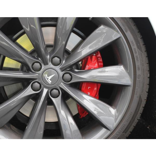 Tesla Model S/X テスラ モデルS X ホイールセンターキャップ 純正品|ducatism|03