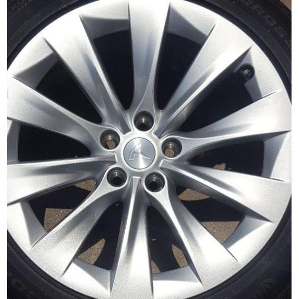 Tesla Model S/X テスラ モデルS X ホイールセンターキャップ 純正品|ducatism|05