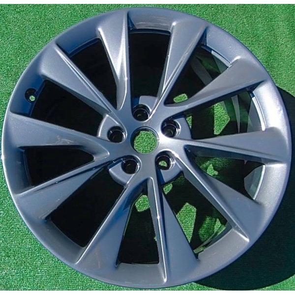 テスラ モデルS  純正 21インチ Newツインタービン ホイール グレー4本set TwinTurbine Wheel 8.5Jx21/9Jx21 1台分set Tesla ModelS ducatism 06