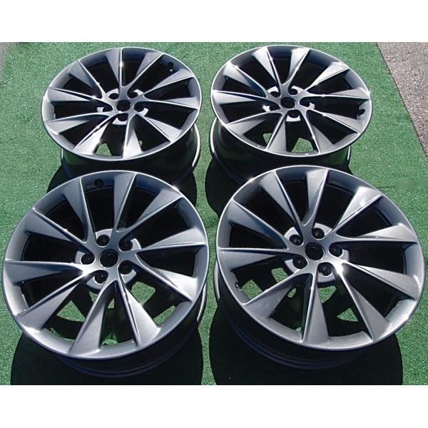 テスラ モデルS  純正 21インチ Newツインタービン ホイール グレー4本set TwinTurbine Wheel 8.5Jx21/9Jx21 1台分set Tesla ModelS ducatism 08