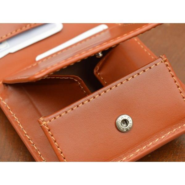 二つ折り財布 レディース 本革 メンズ 牛革スムース イタリア ブランド おしゃれ レザー DUCT(ダクト) FV-182|duct-store|02