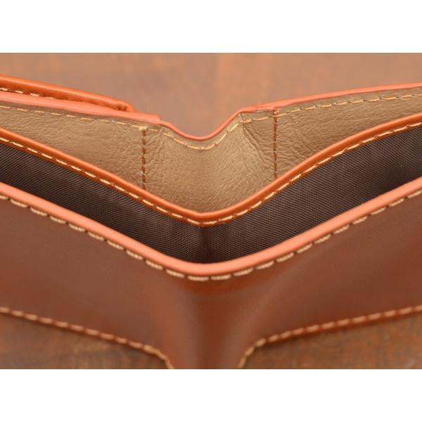 二つ折り財布 レディース 本革 メンズ 牛革スムース イタリア ブランド おしゃれ レザー DUCT(ダクト) FV-182|duct-store|05