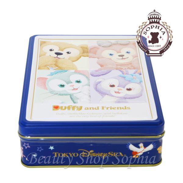 ダッフィー&フレンズ 缶入りアソーテッドクッキー お菓子 ディズニー グッズ お土産 (東京ディズニーシー限定)