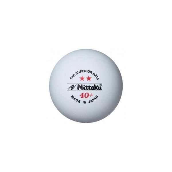 ニッタク(Nittaku) 卓球 ボール 硬式40ミリ 練習球 プラ2スター PLS 2-STAR (3個入) NB-1320|dugoutshop