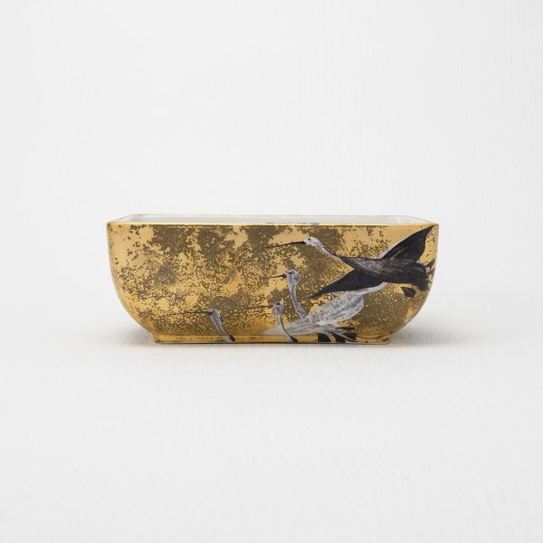 【Duke x Arita】金彩鶴絵 菓子鉢|duke-japan|05