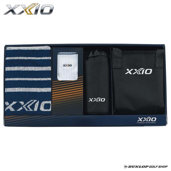 ダンロップ XXIO(ゼクシオ)タオル・ソックス・バッグセット GGF−50378 2020年モデル ギフトセット コンペ賞品