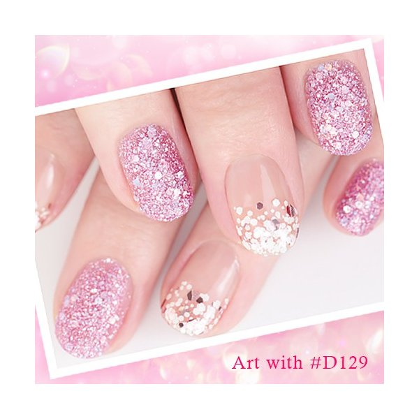 All Pink Everything: マニキュア ネイル フォーサイス カラークラブ D165 All Pink Everything ラメ グリッター