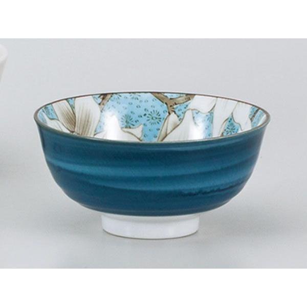ご飯茶碗 おしゃれ/ もくれん中平青 /飯碗 ライスボール Rice Bowl ポイント消化|duralex