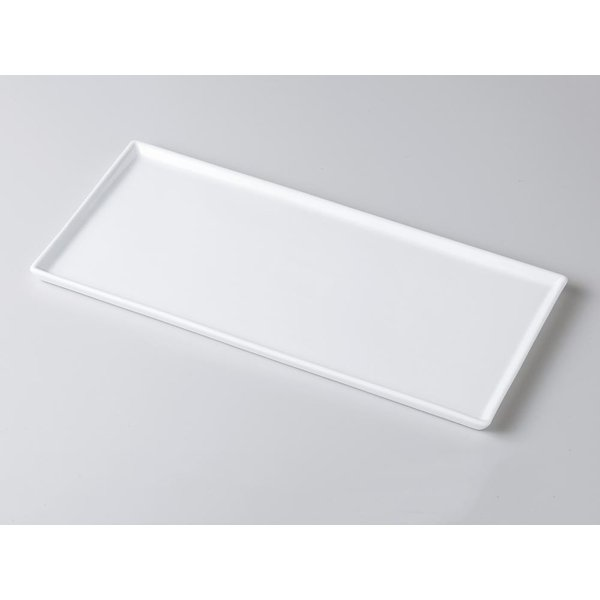 洋食器 モダン プレート/ 30×15フラット皿 /前菜 長角皿 スクエアプレート 業務用 レストラン 高級|duralex