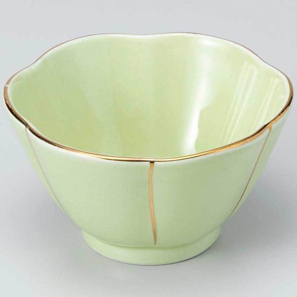 和食器 小鉢 小付/ 渕金ヒワ梅型小鉢(小) /珍味鉢 陶器 業務用 家庭用 Small sized Bowl