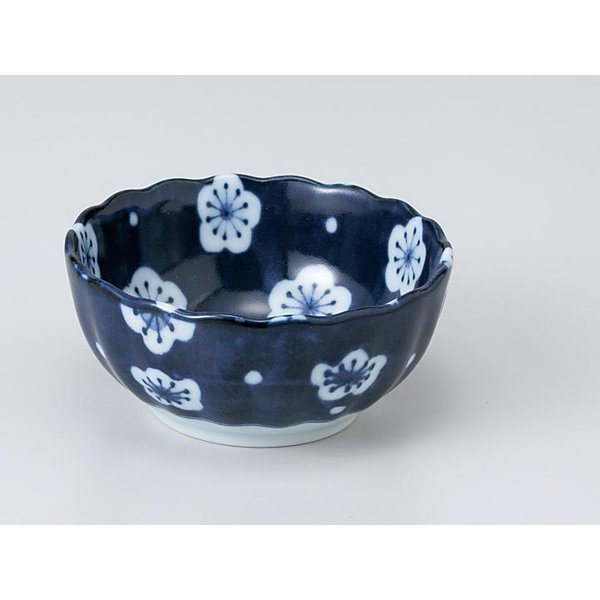 和食器 小付 珍味 小鉢 /福々梅菊形3.0小鉢 /陶器 業務用 家庭用 Small Appetizer Bowl ポイント消化
