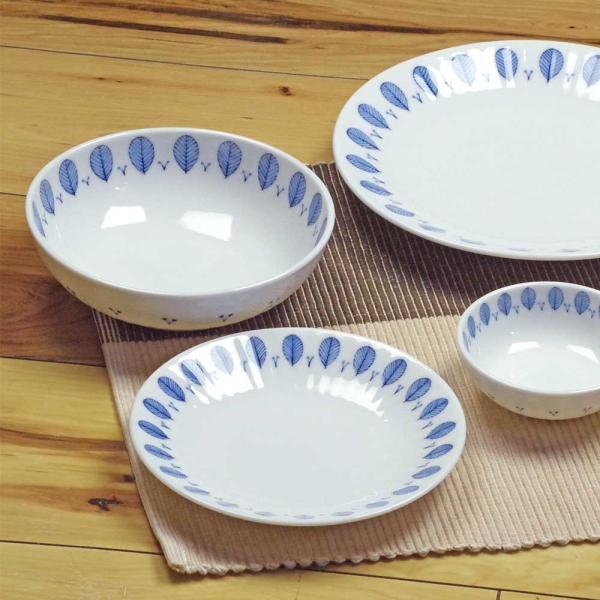 軽量 薄手 白磁 中皿/ ハーブミント5.0皿 直径16.8cm /食洗機OK 電子レンジOK 家庭用 業務用 ナチュラル食器 duralex 04
