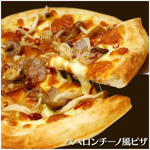 ピザ ペペロンチーノ風ピザ