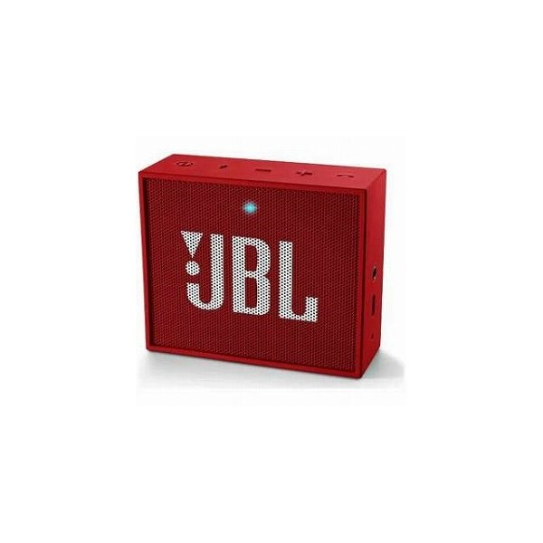 JBL GO ポータブルワイヤレススピーカー Bluetooth対応 レッド JBLGOREDの画像