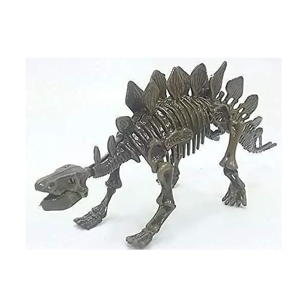 JinMeidaToys◇3Dパズルフィギア「恐竜化石たまご/ダイナソージュラシックエッグス」/ステゴザウルス