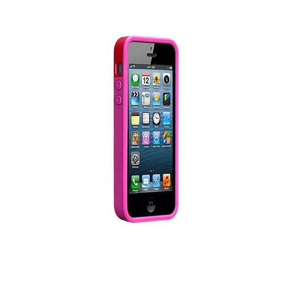 ICカード カード収納 iphoneSE iphone5s iphone5 ケース POP ID Case  Ruby Red /Shocking Pink ICカードが収納出来るケース case-mate ケースメート  あすつく|dyn|02