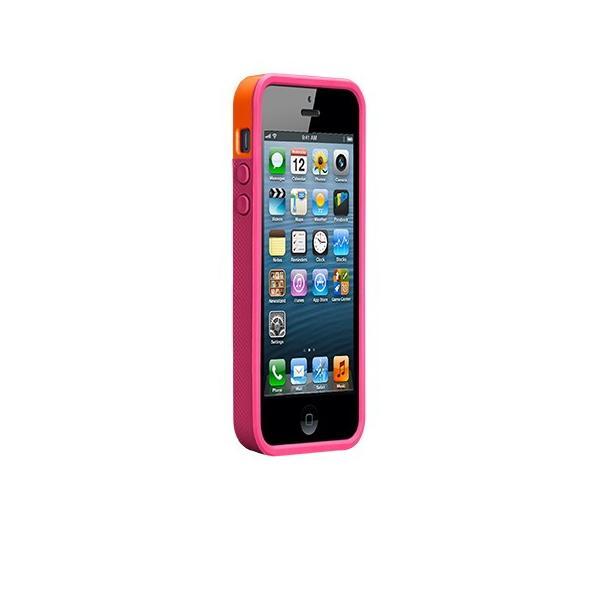 ICカード カード収納 iphoneSE iphone5s iphone5 ケース POP ID Case オレンジ ピンク ICカードが収納出来るケース case-mate ケースメート  あすつく|dyn|02