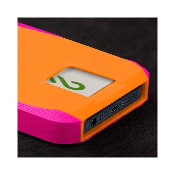 ICカード カード収納 iphoneSE iphone5s iphone5 ケース POP ID Case オレンジ ピンク ICカードが収納出来るケース case-mate ケースメート  あすつく|dyn|03