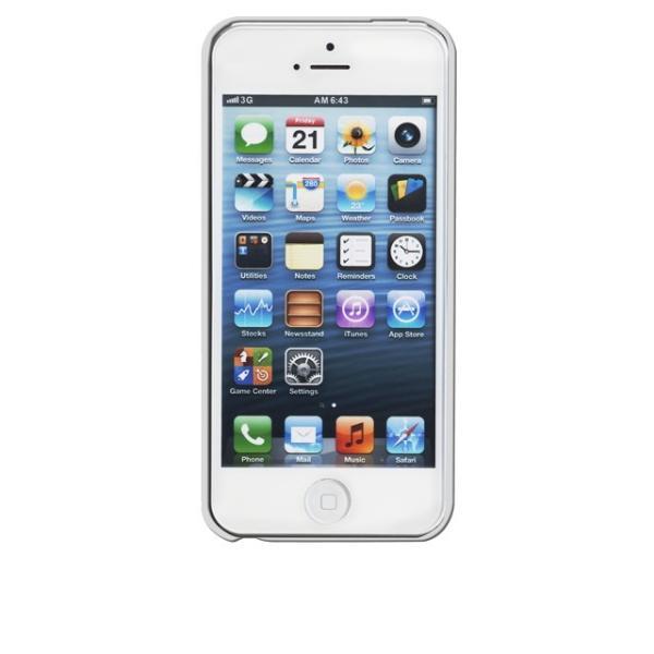 ICカード カード収納 Case-Mate iphoneSEケース iphone5sケース Case Matte Glossy White 改札機エラー防止シート付 case-mate ケースメート  あすつく dyn 04