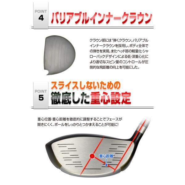 ゴルフ クラブ 3本セット マキシマックスリミテッド2ドライバー + マキシマックスFW プレミア飛匠・極シャフト仕様|dyna-golf|07