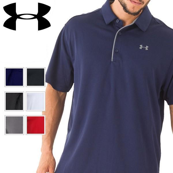 UNDER ARMOUR アンダーアーマー スポーツ ポロシャツ メンズ 半袖 dyna-golf