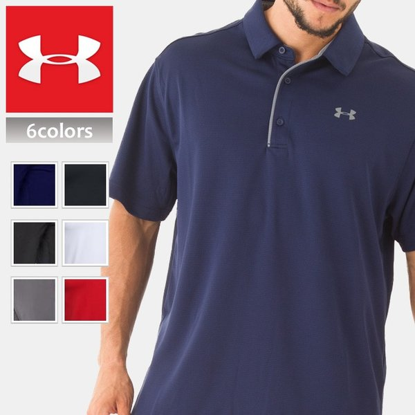UNDER ARMOUR アンダーアーマー スポーツ ポロシャツ メンズ 半袖 dyna-golf 02