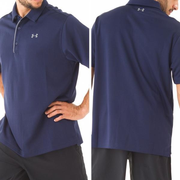 UNDER ARMOUR アンダーアーマー スポーツ ポロシャツ メンズ 半袖 dyna-golf 04