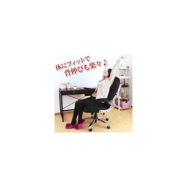 オフィスチェア デスクチェア チェア イス いす 事務椅子 ハイバック メッシュチェア リクライニング レーヴ e-alamode 03