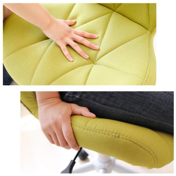 オフィスチェア デスクチェア チェア おしゃれ 椅子 事務椅子 パソコンチェア 学習チェア 子ども用 コンパクト パンナ|e-alamode|13