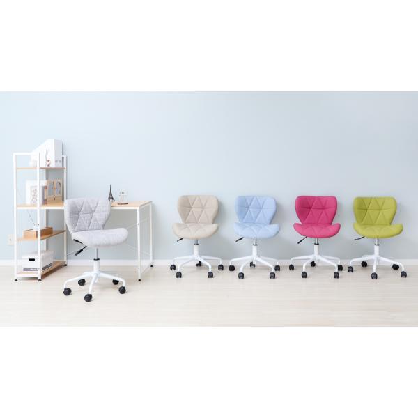 オフィスチェア デスクチェア チェア おしゃれ 椅子 事務椅子 パソコンチェア 学習チェア 子ども用 コンパクト パンナ|e-alamode|14