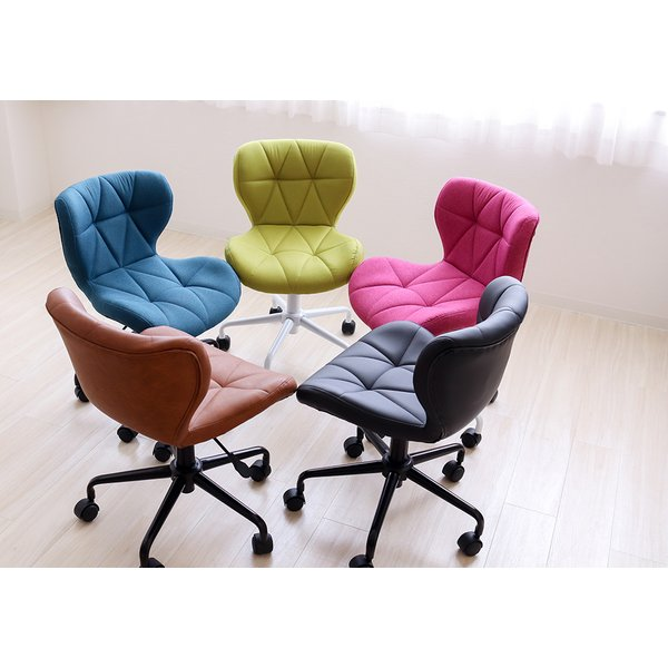 オフィスチェア デスクチェア チェア おしゃれ 椅子 事務椅子 パソコンチェア 学習チェア 子ども用 コンパクト パンナ|e-alamode|15