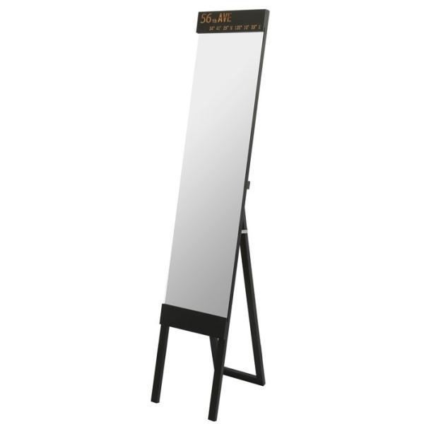ミラー スタンドミラー 姿見 全身鏡 鏡 姿見鏡 飛散防止加工 幅30cm アウル|e-alamode|04
