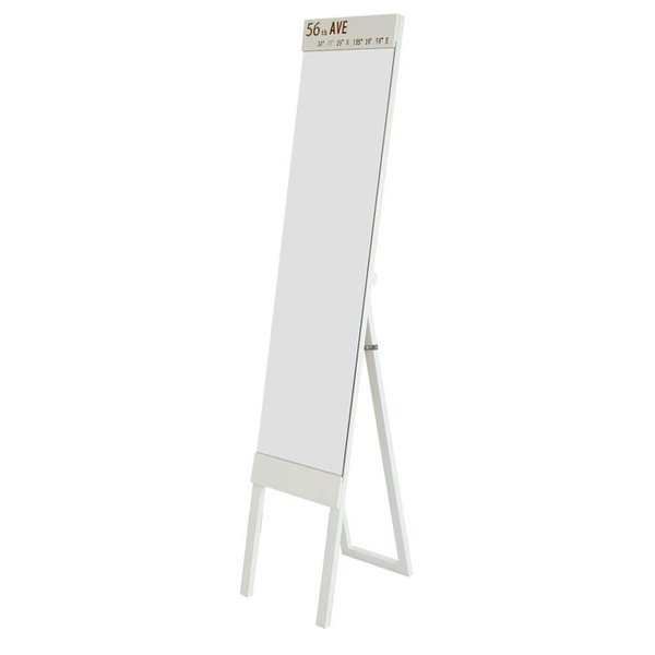 ミラー スタンドミラー 姿見 全身鏡 鏡 姿見鏡 飛散防止加工 幅30cm アウル|e-alamode|05