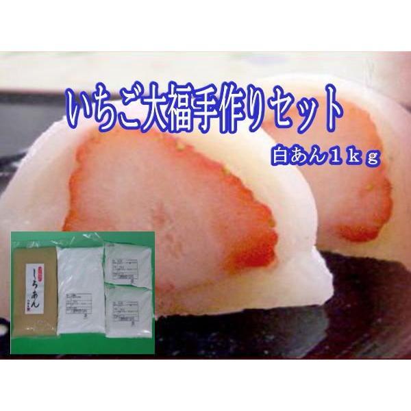 いちご大福手作りセット『白あん 1kg』