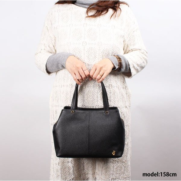 レディース ハンドバッグ 牛革 本革 レザー 日本製 あおりポケット Artisane josse アルティザンヌ・ジョゼ アドリア 950-AJ-8EN201