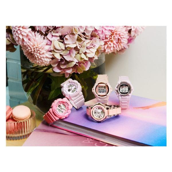 BABY-G baby-g ベビーG BGR-3003-4JF カシオ CASIO ピンクブーケシリーズ 電波ソーラー ミリタリーパステルピンク レディース 腕時計