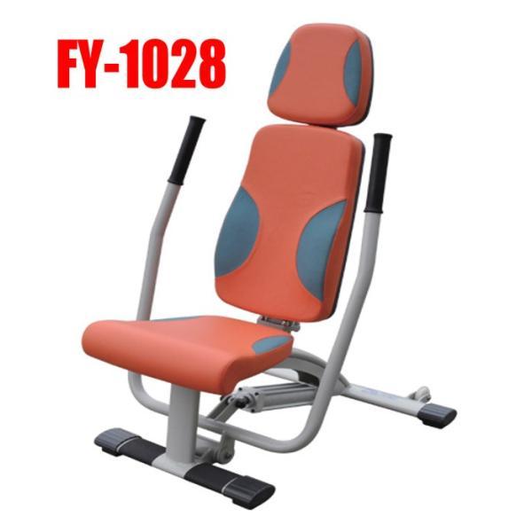 高齢者用機能訓練(リハビリ用)油圧式チェストプレスFY-1028肩周辺の機能改善 e-bodyfitness