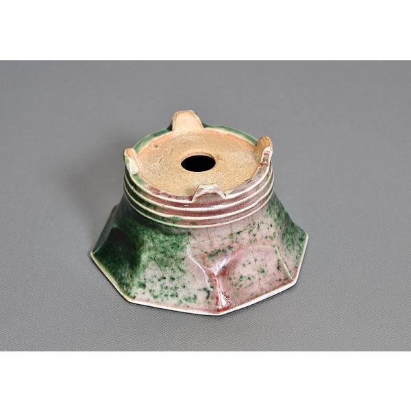盆栽鉢 織部釉八角盆栽鉢 小品盆栽鉢 小さな盆栽鉢 h3689|e-bonsai|05