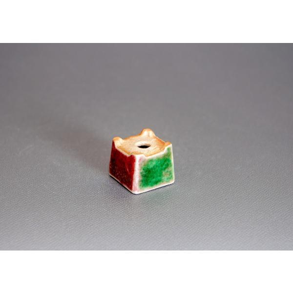 プチ盆栽鉢 織部釉 正方盆栽鉢 小鉢 小さい鉢 p0143|e-bonsai|04