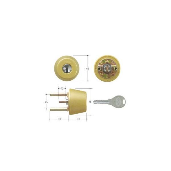 GOAL ゴール V18シリンダー TXタイプ 鍵 交換 取替えテール刻印37 GCY-243 TX/TDD