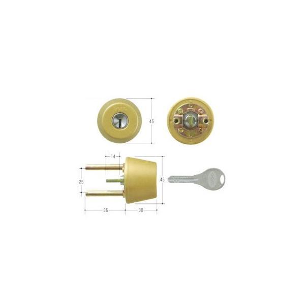 GOAL ゴール V18シリンダー TXタイプ 鍵 交換 取替えテール刻印40 GCY-247 TX/TDD