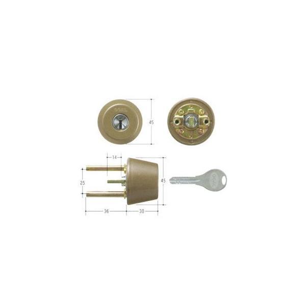 GOAL ゴール V18シリンダー TXタイプ 鍵 交換 取替えテール刻印40 GCY-248 TX/TDD