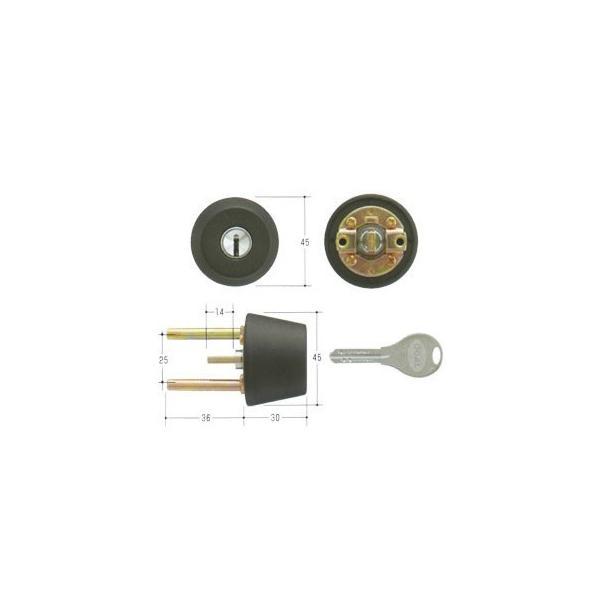 GOAL ゴール V18シリンダー TXタイプ 鍵 交換 取替えテール刻印40 GCY-258 TX/TDD