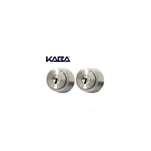 Kaba Star Neo カバスターネオ 6150R シリンダー錠MIWA-LSPタイプ2個同一でキー10本付き[Kaba6150R][LSPSWLSP]