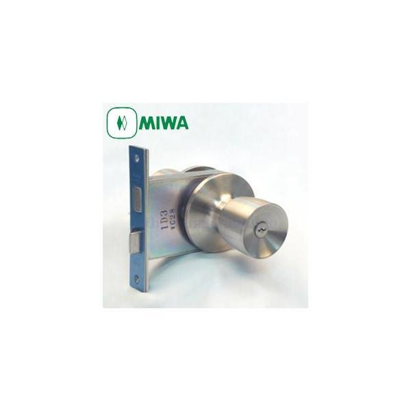 HMD1 MIWA 美和ロック HMD-1型 本締付モノロック錠 ドアノブ 交換 取替え鍵付き 室外:シリンダー /室内:サムターン