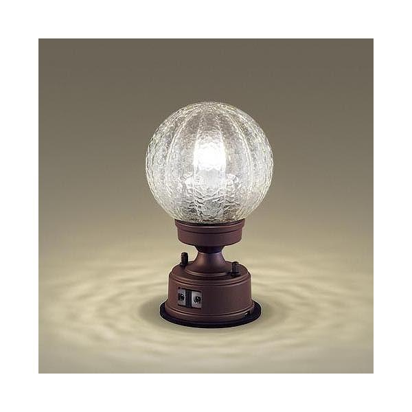 LGWJ56935AFパナソニック門柱灯ブラウンLED(電球色)センサー付