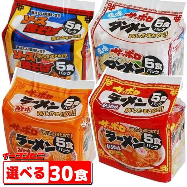 スナオシ 袋めん 5食入り×選べる6袋(計30食)  『送料無料(沖縄・離島除く)』