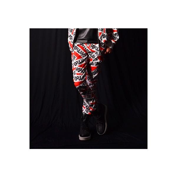 b系 メンズ ダンス衣装 ズボン 細身 男性用 演出服 練習着|e-dance|02